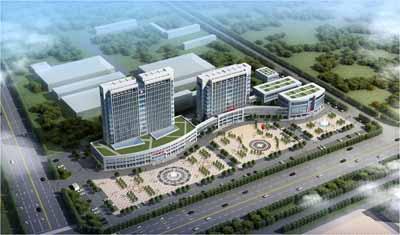 鱼台县中医院 残联规划及建筑设计概念方案
