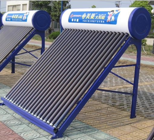 美菱健康蓝系列太阳能热水器