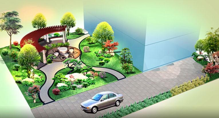 园林景观效果图_许昌园林设计