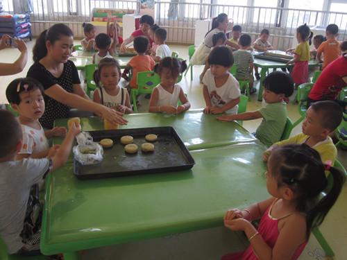 中秋节活动_鹤壁市实验幼儿园_鹤壁市公立幼儿园_河南