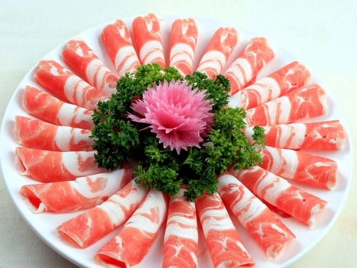 回忆小板凳火锅 永城火锅 火锅配菜 羊肉图片