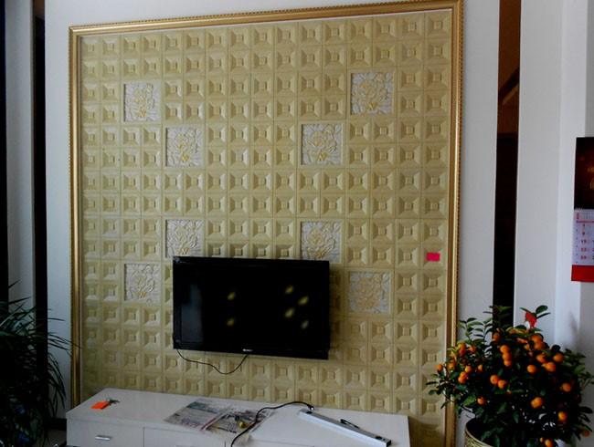 电视背景_3d背景墙_无缝墙布墙画