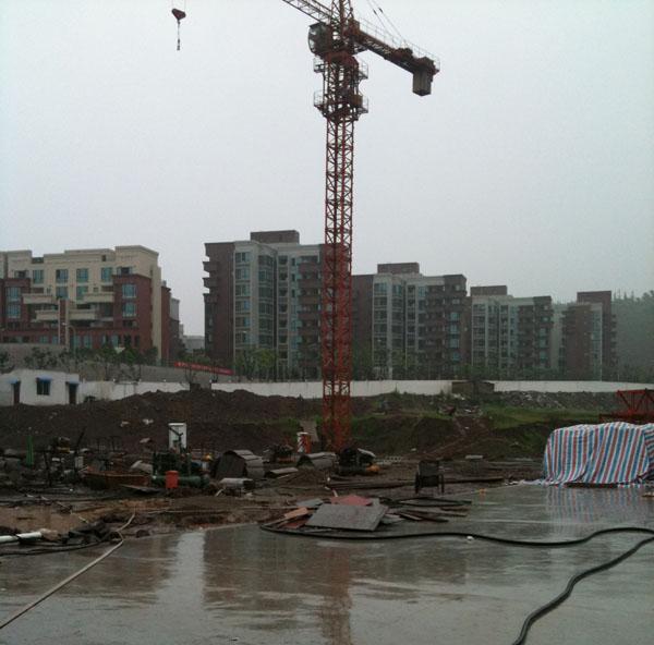 重庆市万州区腾迅建筑设备租赁有限公司/万州塔吊