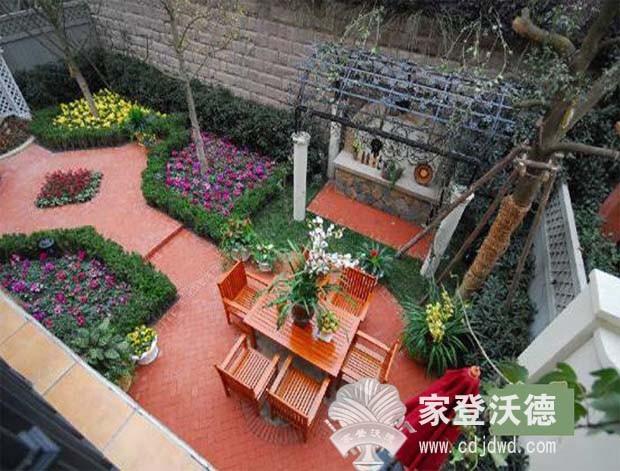 阳台花园 庭院 庭院