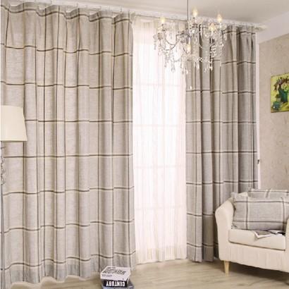 现代简约风格窗帘图片