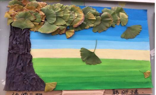 仁寿县华达综合高中学校学生手工绘画作品展