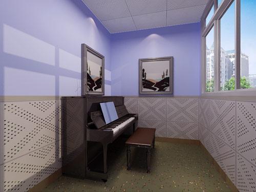 钢琴学校装修图片素材