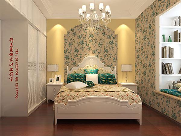欧式次卧室女生卧室