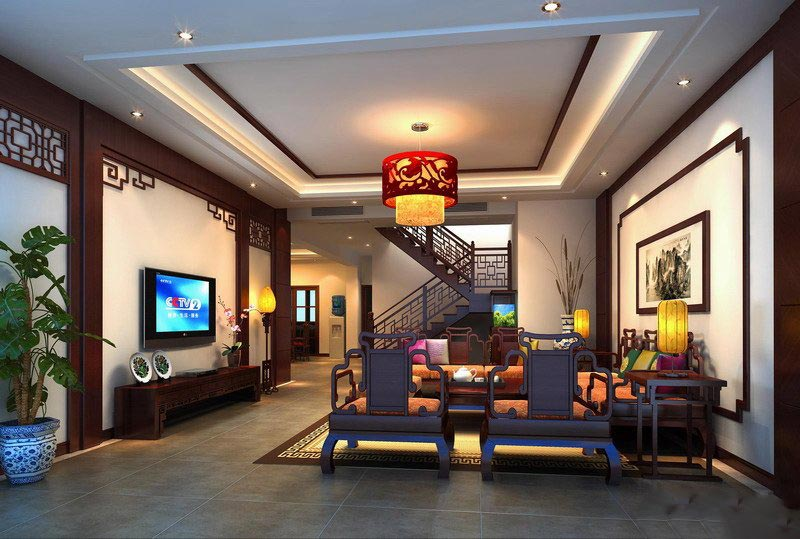 中式风格的家居设计,是在