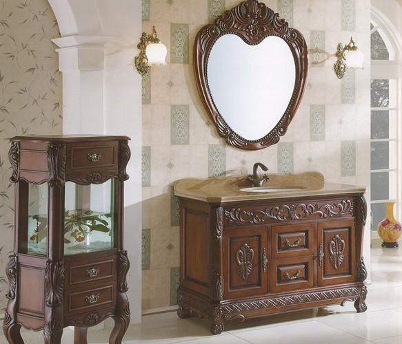仿古秀浴室柜仿古浴室柜定制