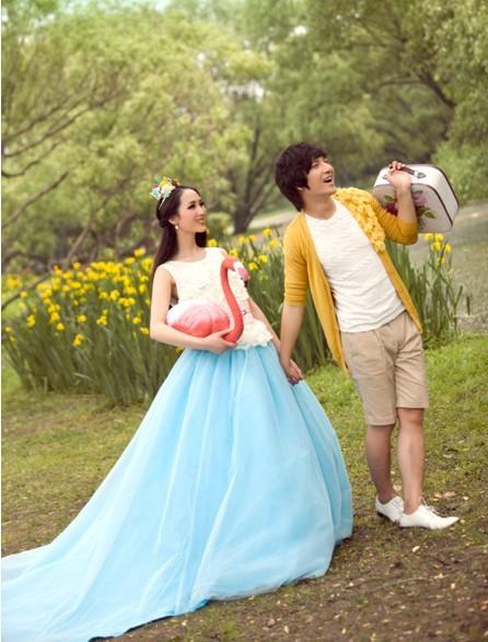 -----兴平薇薇新娘婚纱影楼套餐展示-我们结婚吧图片