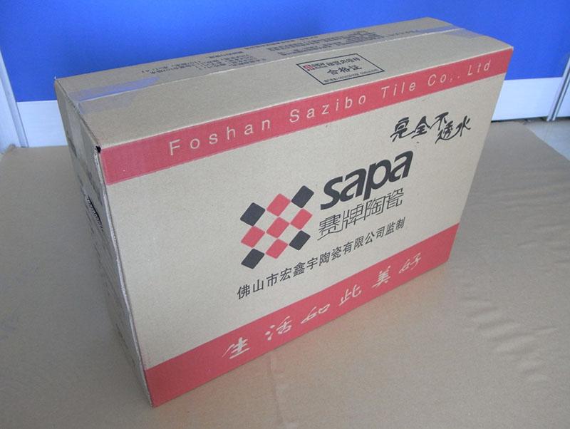 瓷砖包装箱三_陕西华航纸箱包装厂_陕西瓷砖包装厂家