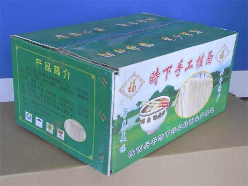 陕西食品纸箱制作基地兴平食品包装纸箱兴平纸箱加工龙头企业