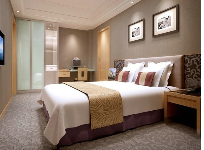 背景墙 房间 家居 酒店 设计 卧室 卧室装修 现代 装修 664_488