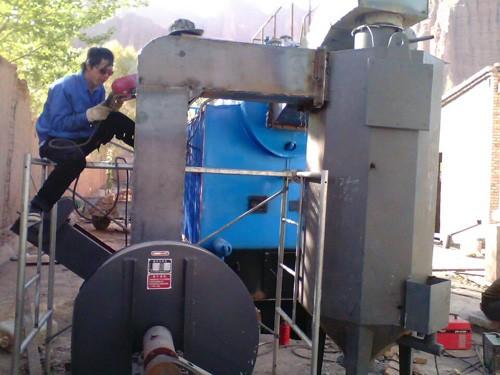 焊锅炉步骤图片
