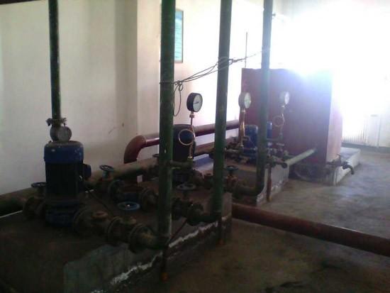 循环水泵及补水泵_青海锅炉安装