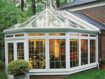 欧式透明玻璃房别墅