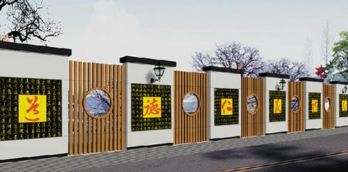 校园围墙文化_青海环境工程公司