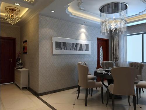 欧式风格餐厅_西宁艺术玻璃