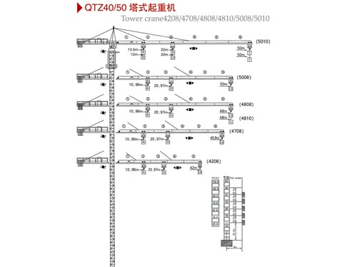 qtz40/50塔式起重机_青海塔机