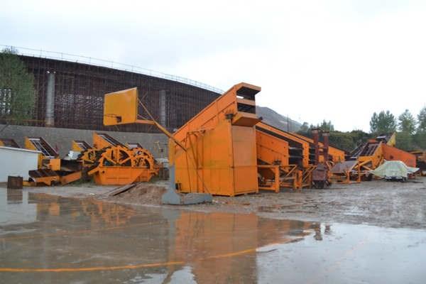 青海砂石厂设备青海筛金设备青海机械厂