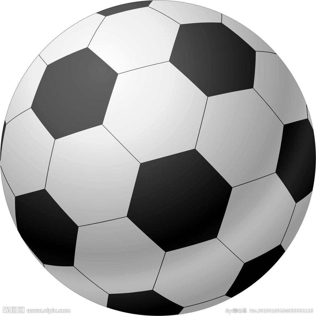 足球线条矢量图