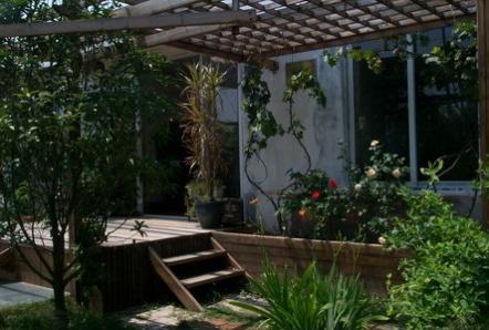 园林小品之花架凉亭1